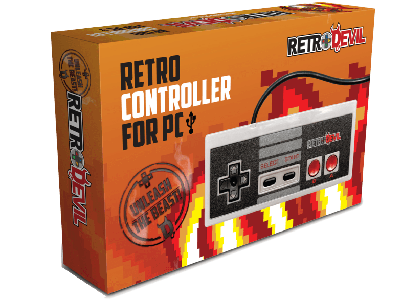 REE GROUP NES Controller USB for PC gaming controllers