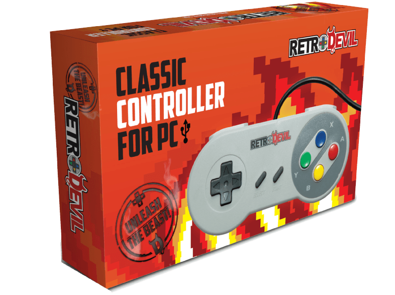 REE GROUP SNES Controller USB for PC gaming controllers