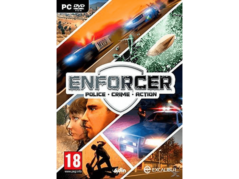 EXCALIBUR PUBLISHING Enforcer - Police Crime Action pc games