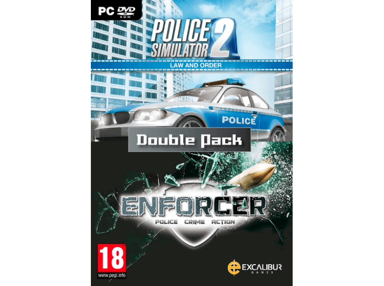 EXCALIBUR PUBLISHING Law and Order Double Pack / Enforcer, Police Sim 2 pc games