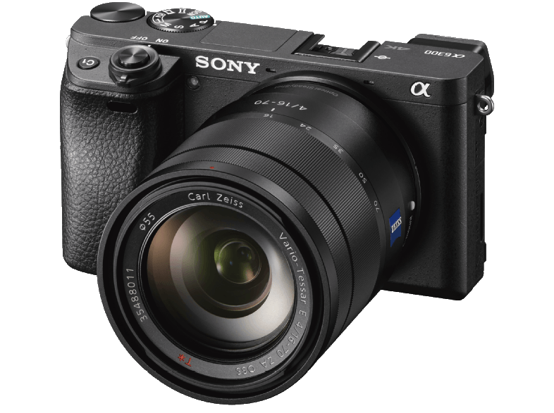 SONY Alpha 6300 με φακό 16-70 mm - (ILCE-6300ZBDI) mirrorless cameras