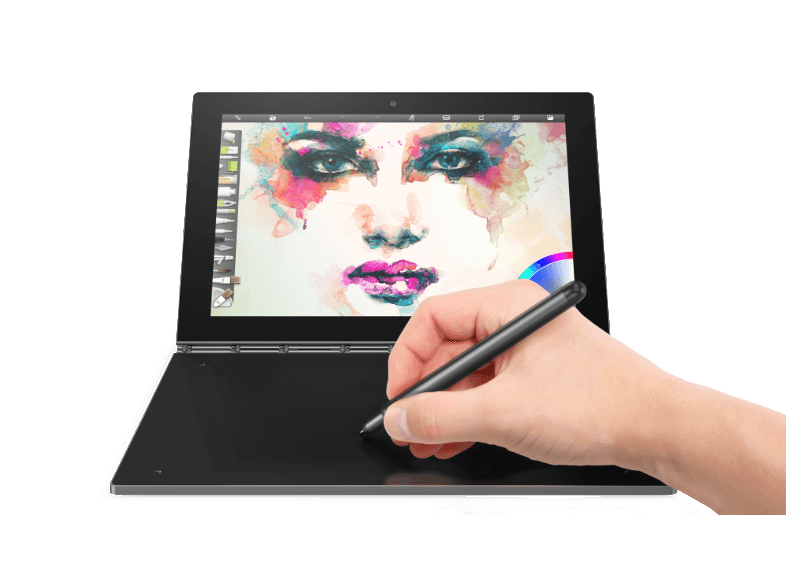 LENOVO Yoga Book Android Gray (X90F) + Pen - (ZA0V0073GR) android tablet