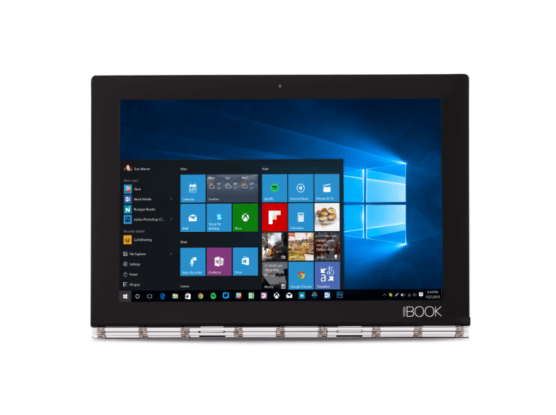 LENOVO Yoga Book Win10 Pro Black (X91F) + Pen - (ZA150045GR) windows tablet