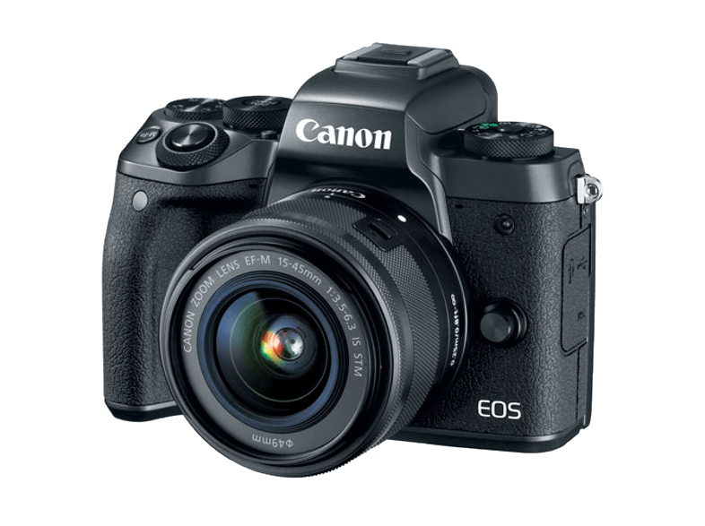 CANON EOS M5 15-45S + EF Adapter mirrorless cameras