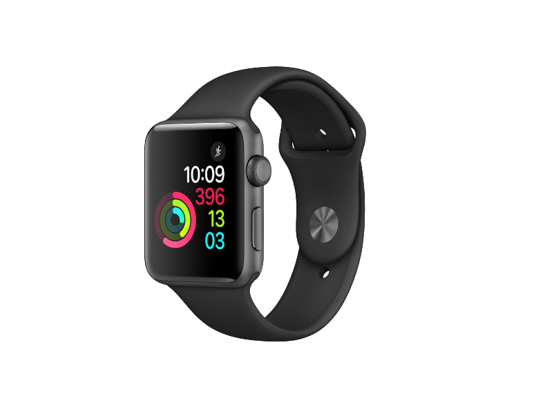 APPLE Watch Series 2 42mm Space Grey - (MP062GK/A) smartwatches