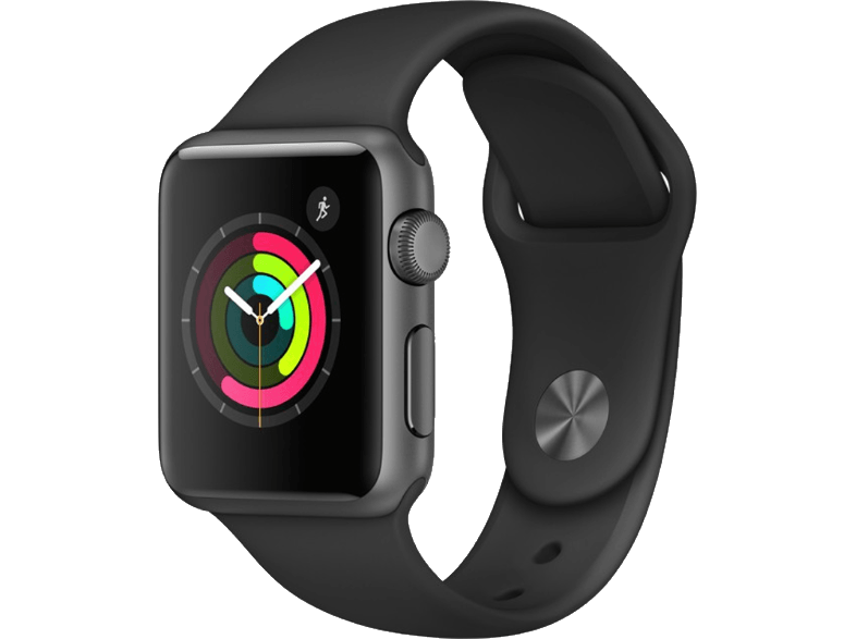APPLE Watch Series 1 38mm Space Grey Aluminium - (MP022GK/A) smartwatches