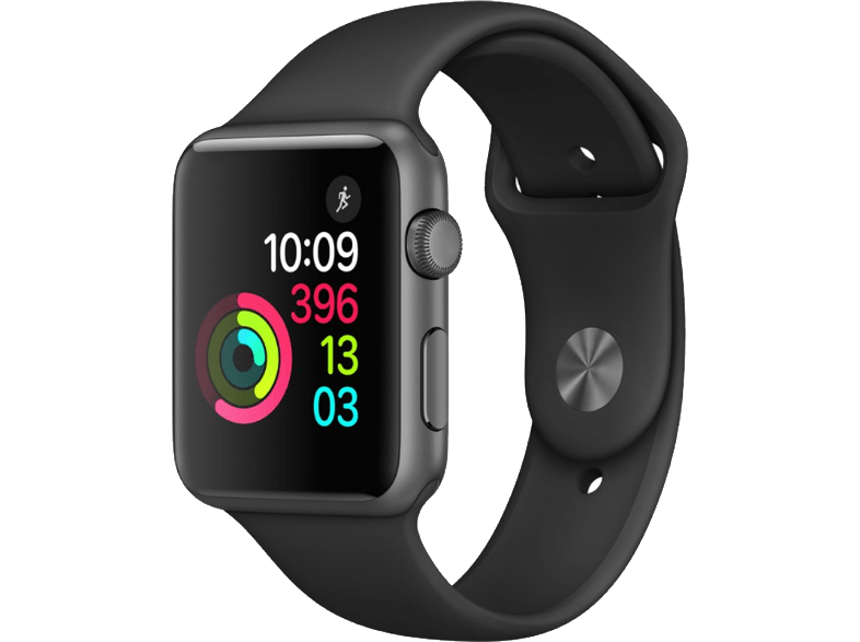 APPLE Watch Series 1 42mm Space Grey Aluminium - (MP032GK/A) smartwatches