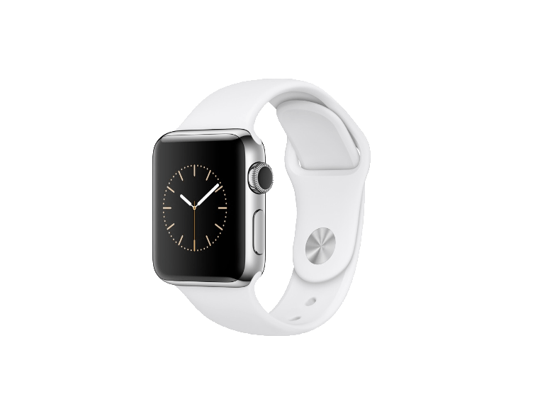 APPLE Watch Series 2 38mm SS White Sport - (MNP42GK/A) smartwatches