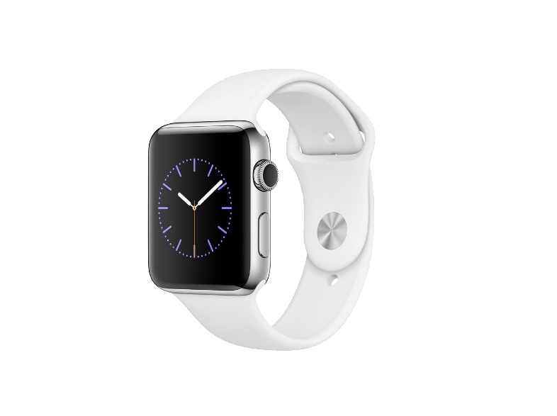APPLE Watch Series 2 42mm SS White - (MNPR2GK/A) smartwatches