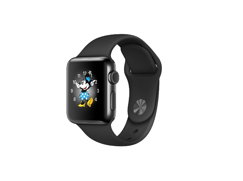 APPLE Watch Series 2 38mm Space Black SS - (MP492GK/A) smartwatches