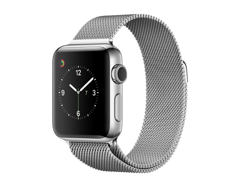 APPLE Watch Series 2 38mm Stainless Steel Silver Milanese - (MNP62GK/A) smartwatches