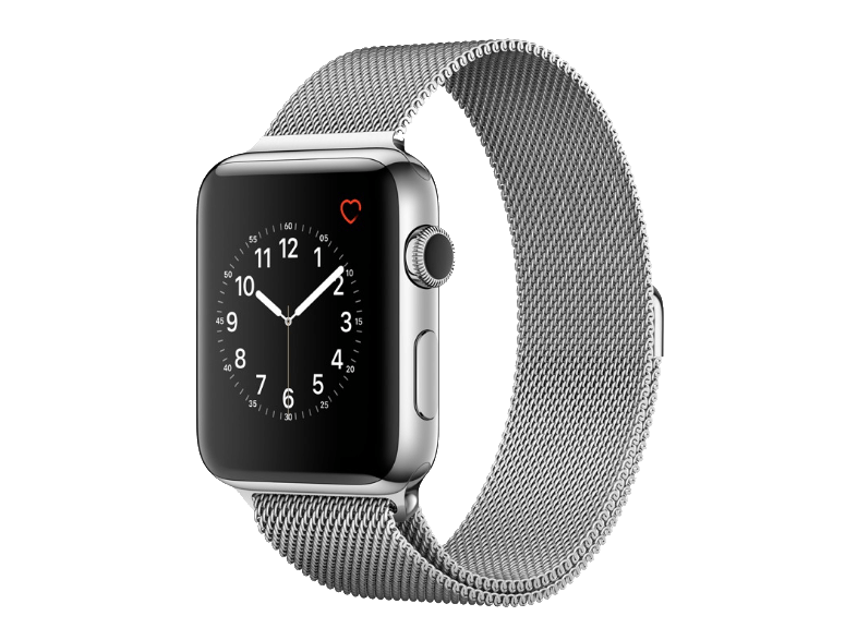 APPLE Watch Series 2 42mm SS Silver Milanese - (MNPU2GK/A) smartwatches