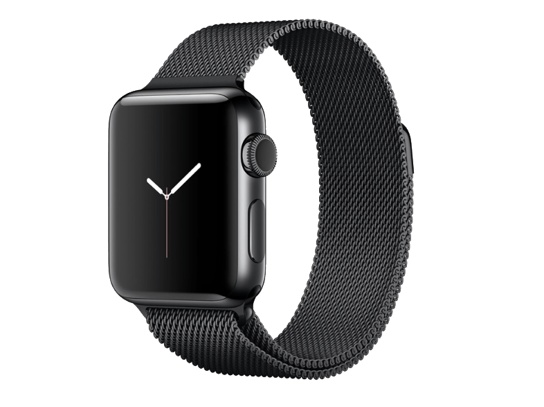 APPLE Watch Series 2 42mm SS Space Black Milanese - ( MNPE2GK/A) smartwatches