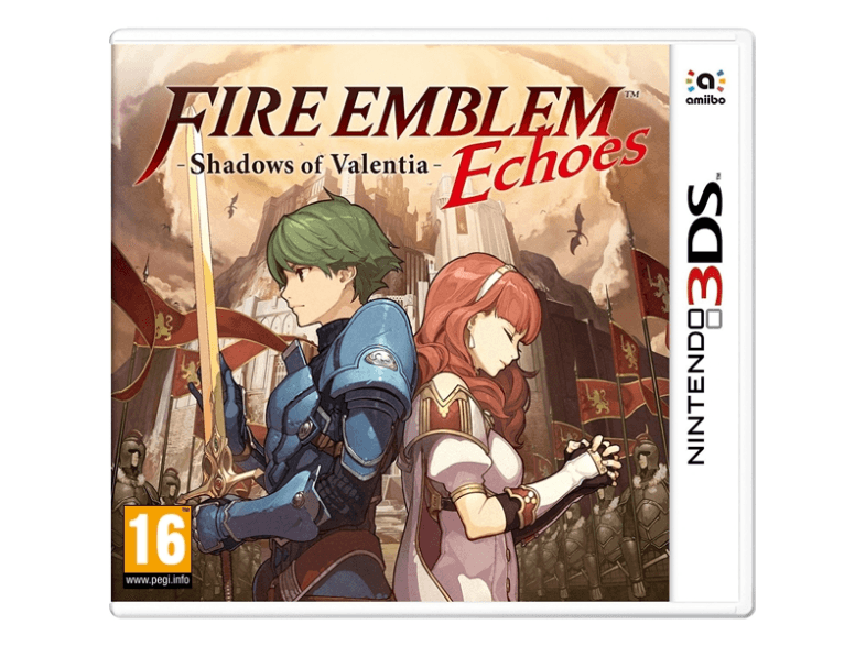 NINTENDO SW Fire Emblem Echoes: Shadows of Valentia games 2ds  3ds