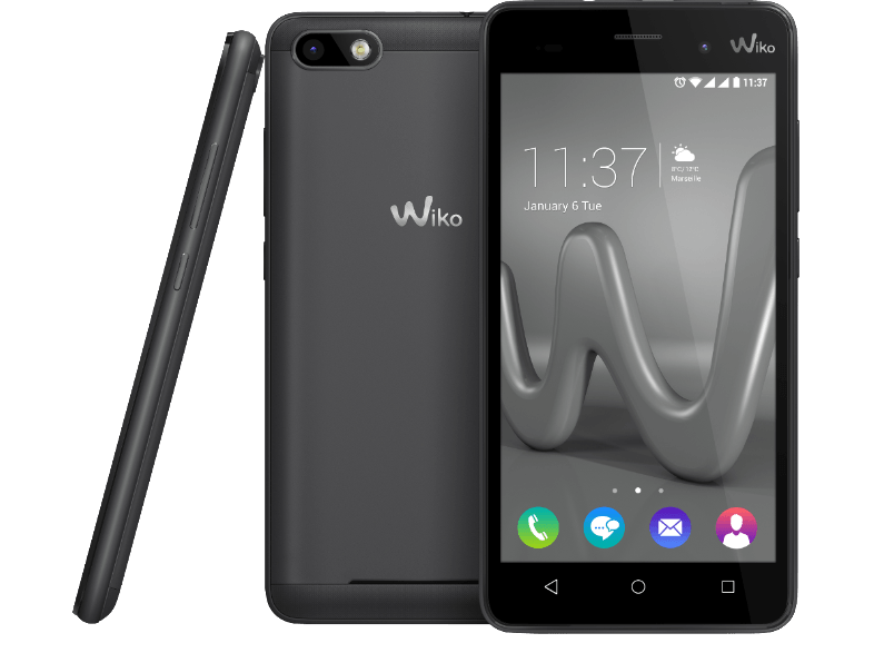 WIKO Lenny 3 Space Grey android smartphone