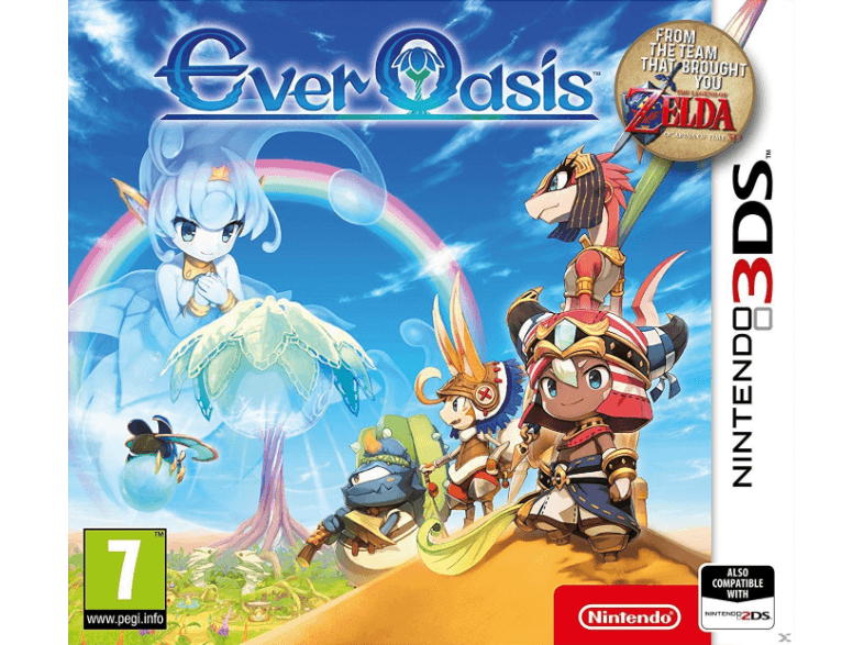 NINTENDO SW Ever Oasis games 2ds  3ds