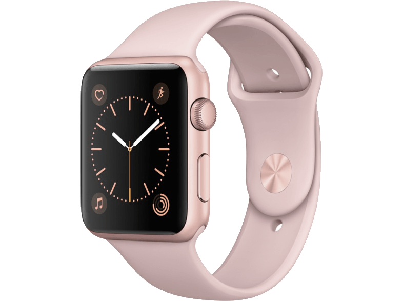 APPLE Watch Series 1 42mm Rose Gold Aluminium - (MQ112GK/A) smartwatches
