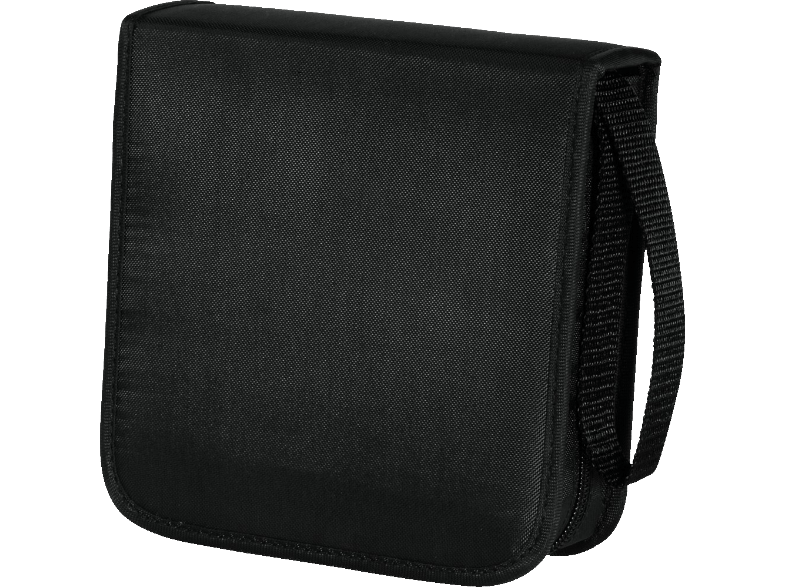 HAMA CD/DVD/Blu-ray Wallet 40, black cd  dvd  blu ray