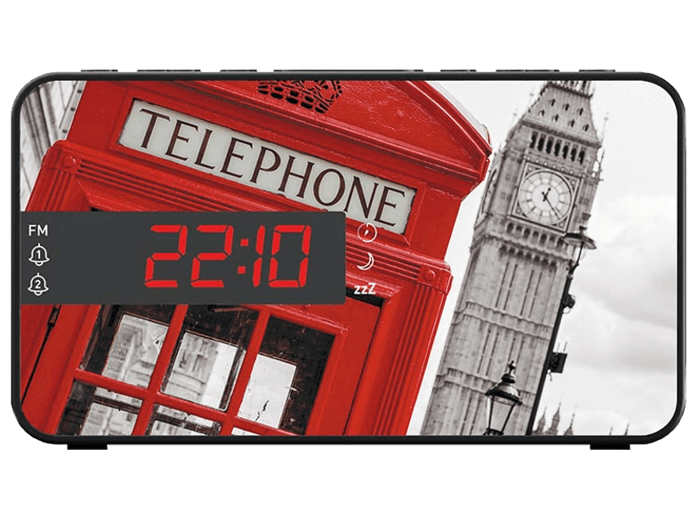 BIG BEN RR15 Telephone Box ραδιόφωνα