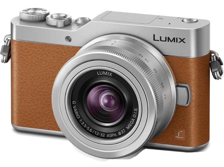 PANASONIC DC-GX800 + φακό 12-32mm Brown mirrorless cameras