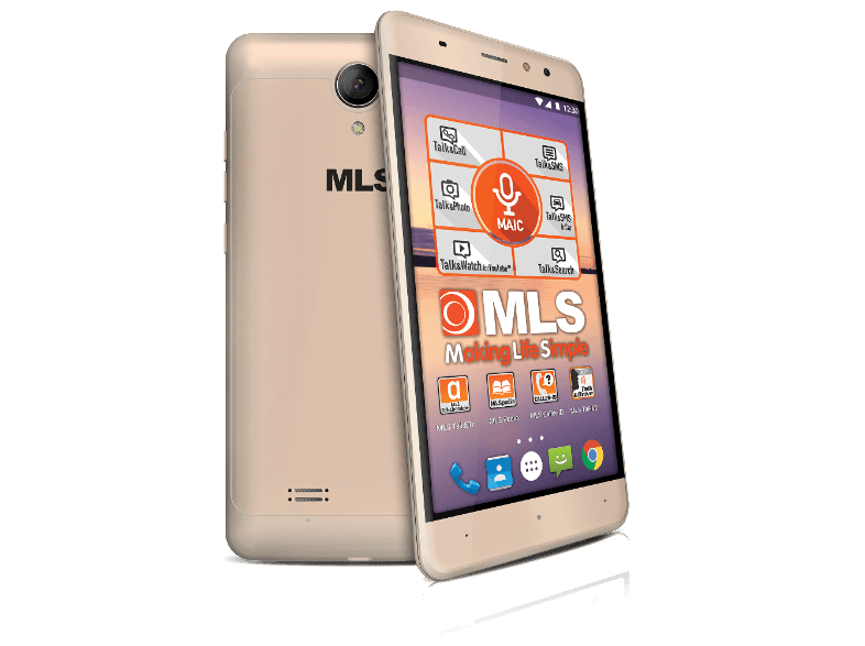 MLS ALU 5.5 3G Gold DS android smartphone