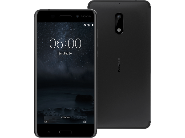 NOKIA 6 DS Black android smartphone