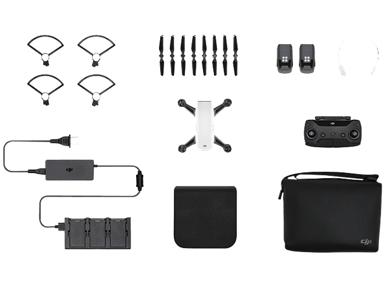 DJI Spark Alpine White Fly More Combo drones