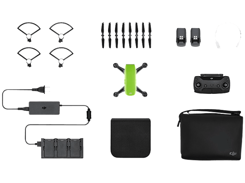 DJI Spark Meadow Green Fly More Combo drones