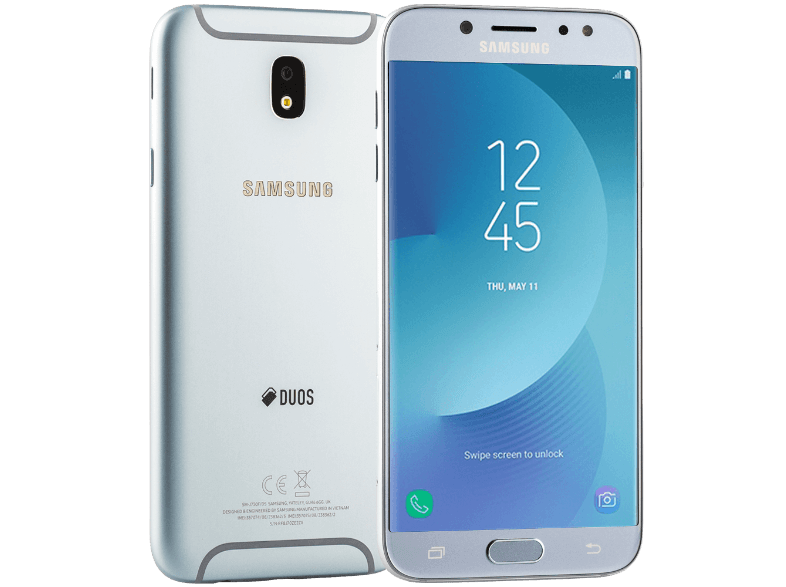 SAMSUNG Galaxy J7 (2017) Dual SIM Blue Silver android smartphone