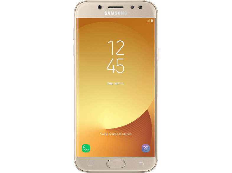 SAMSUNG Galaxy J5 (2017) Gold android smartphone
