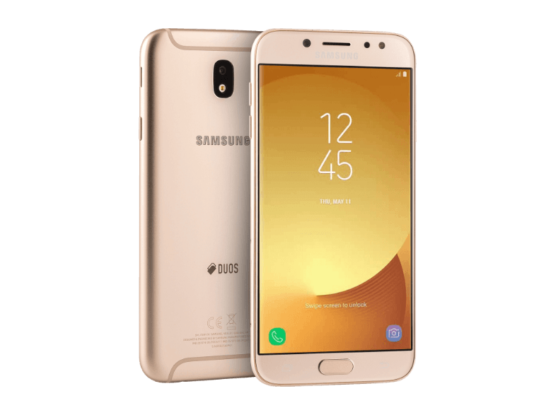 SAMSUNG Galaxy J7 (2017) Dual SIM Gold android smartphone