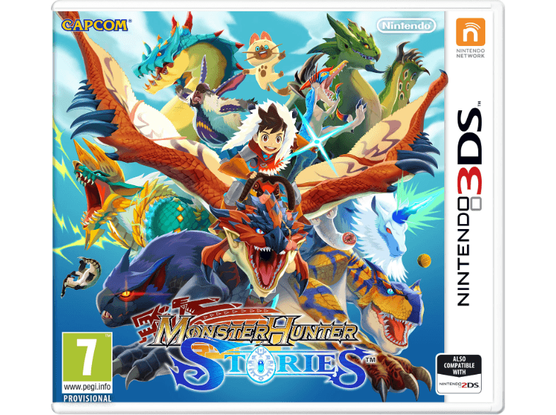 NINTENDO SW Monster Hunter Stories games 2ds  3ds