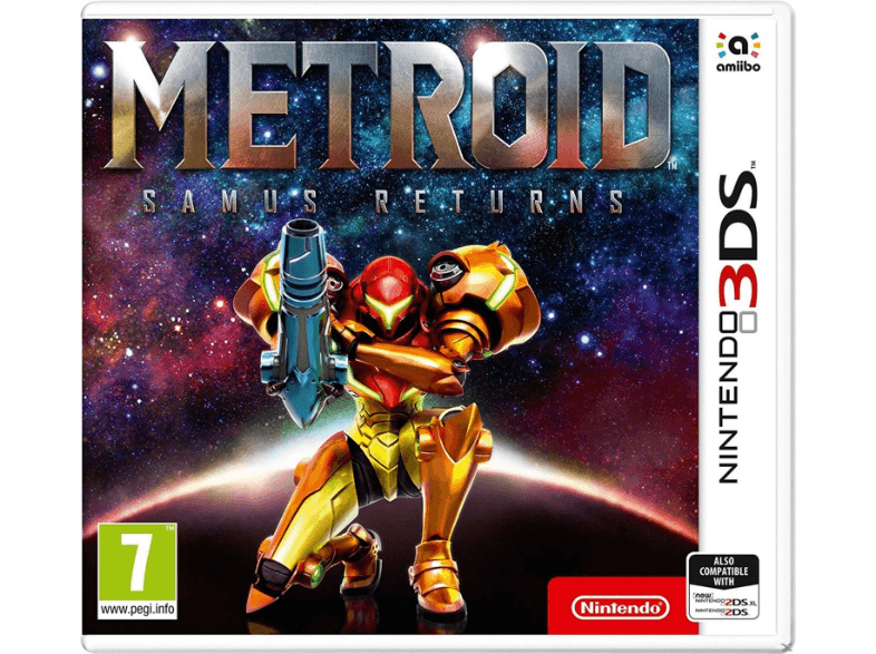 NINTENDO SW Metroid Samus Returns games 2ds  3ds