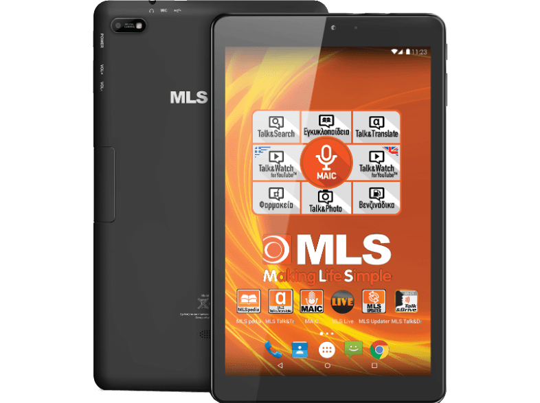 MLS Brave 3G με Micro SD (16GB + 16GB) android tablet