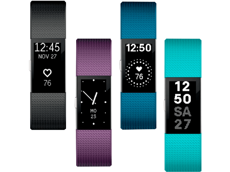 FITBIT Charge 2 Teal Large - (FB407STEL-EU) activity trackers