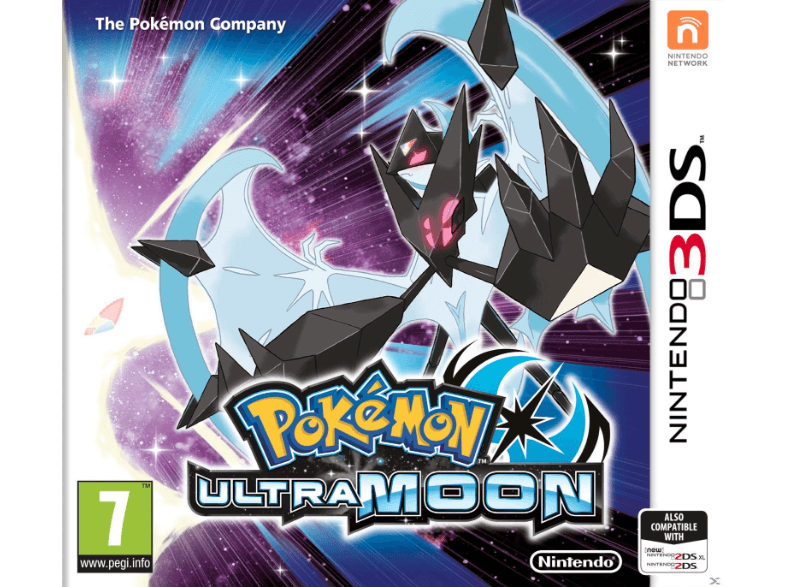 NINTENDO SW Pokemon Ultra Moon games 2ds  3ds