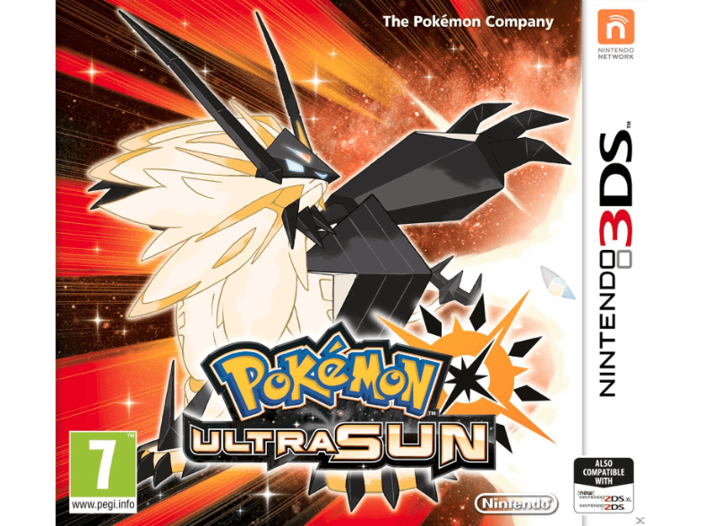 NINTENDO SW Pokemon Ultra Sun games 2ds  3ds