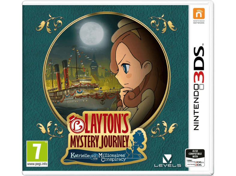 NINTENDO SW Laytons Mystery Journey Katrielle and the Millionaires Conspiracy games 2ds  3ds