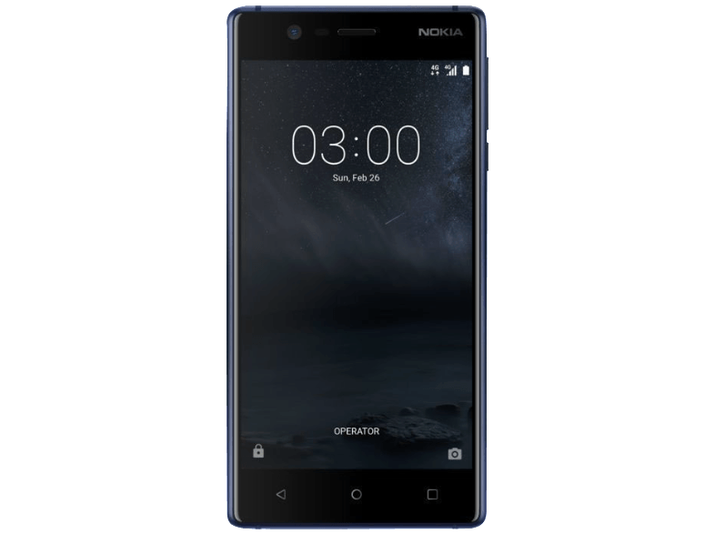 NOKIA 3 DS BLUE android smartphone