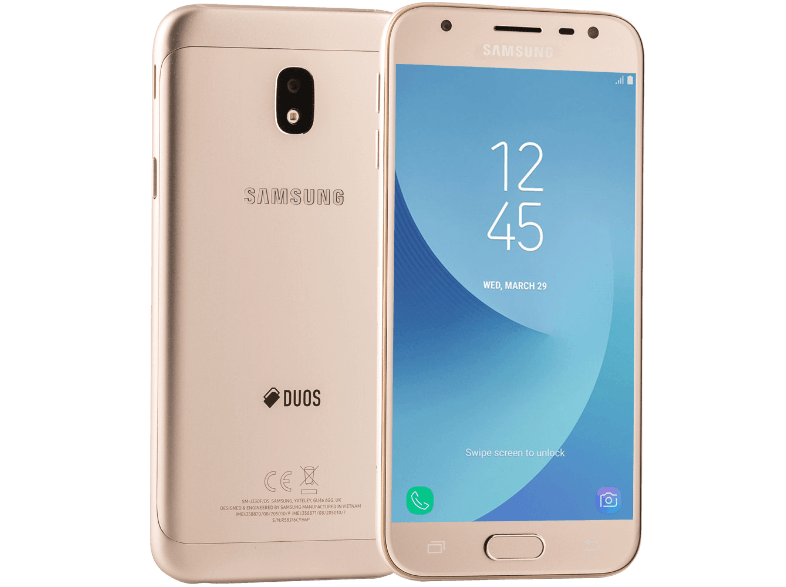 SAMSUNG Galaxy J3 Dual Sim (2017) Gold android smartphone