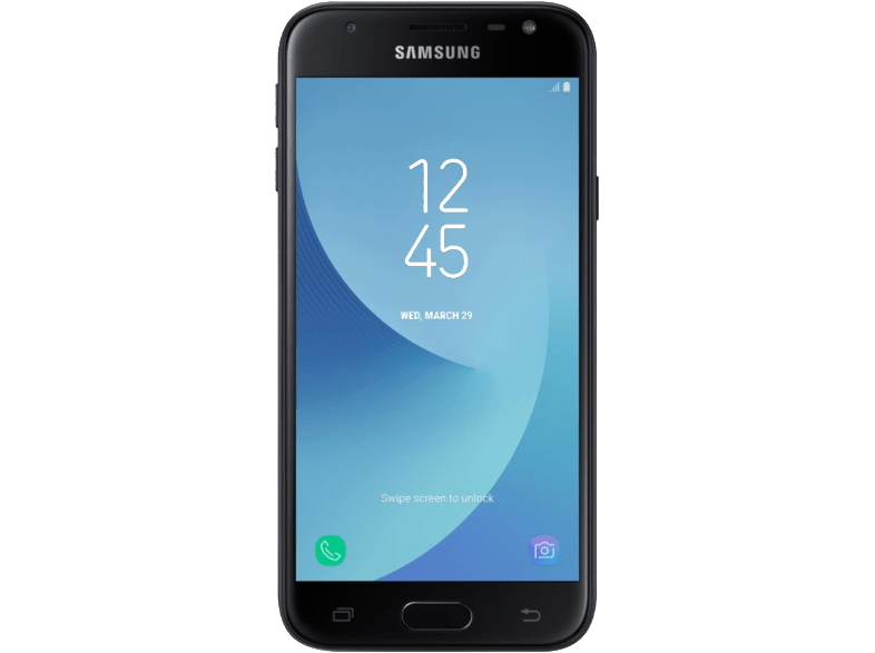SAMSUNG Galaxy J3 Single Sim (2017) Black samsung