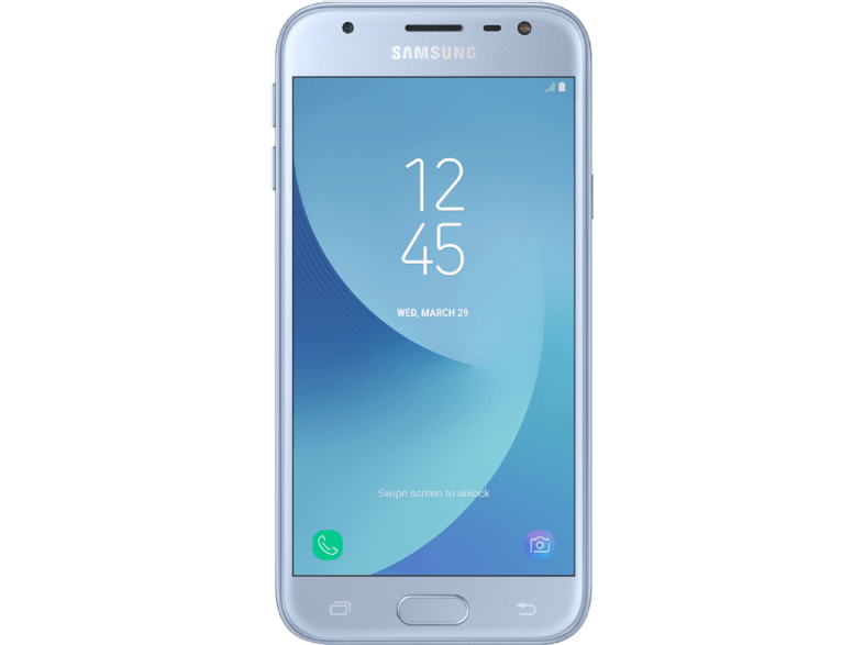SAMSUNG Galaxy J3 Single Sim (2017) Blue Silver android smartphone