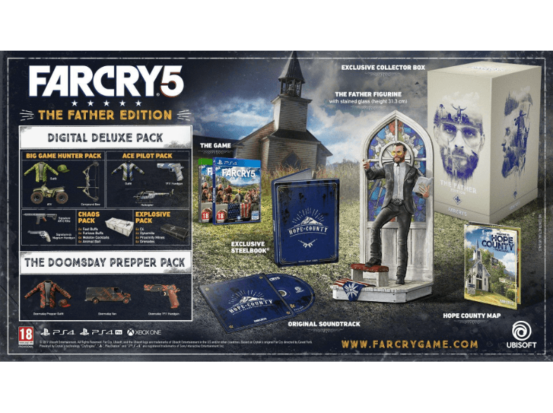 UBISOFT SW Far Cry 5 Father Edition xbox one games