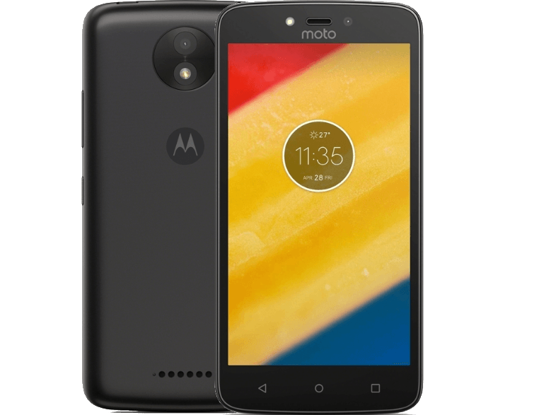 MOTOROLA C Plus - Black android smartphone