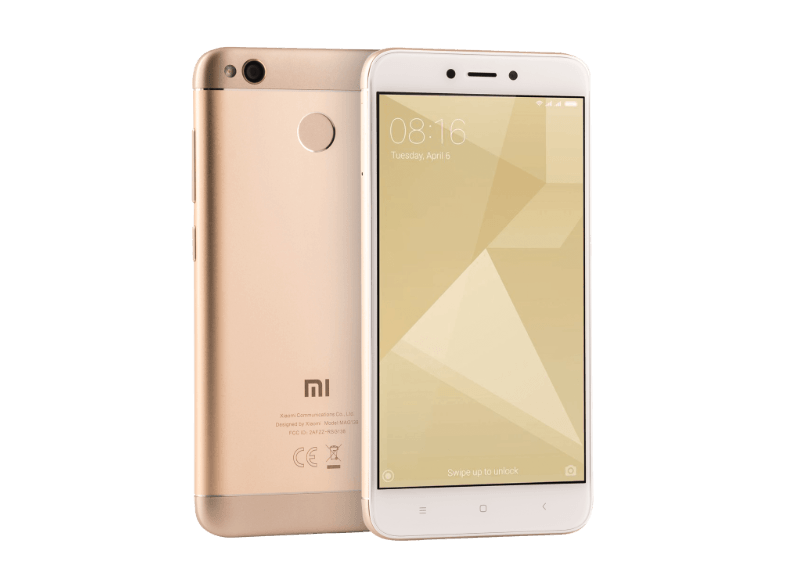 XIAOMI Redmi Note 4X 64GB DS Gold android smartphone
