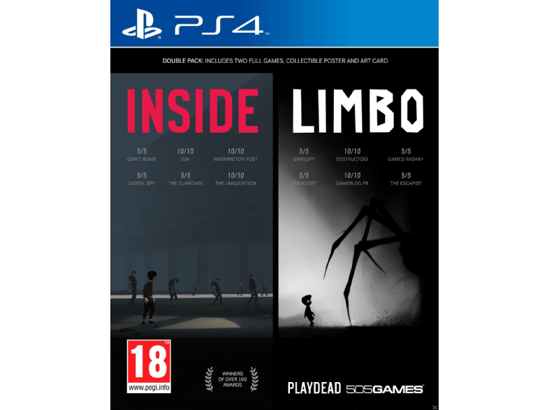 505 GAMES Inside Limbo Double Pack ps4 games