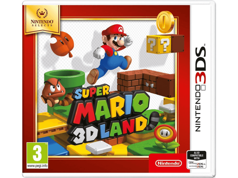 NINTENDO SW Super Mario 3D Land Selects games 2ds  3ds