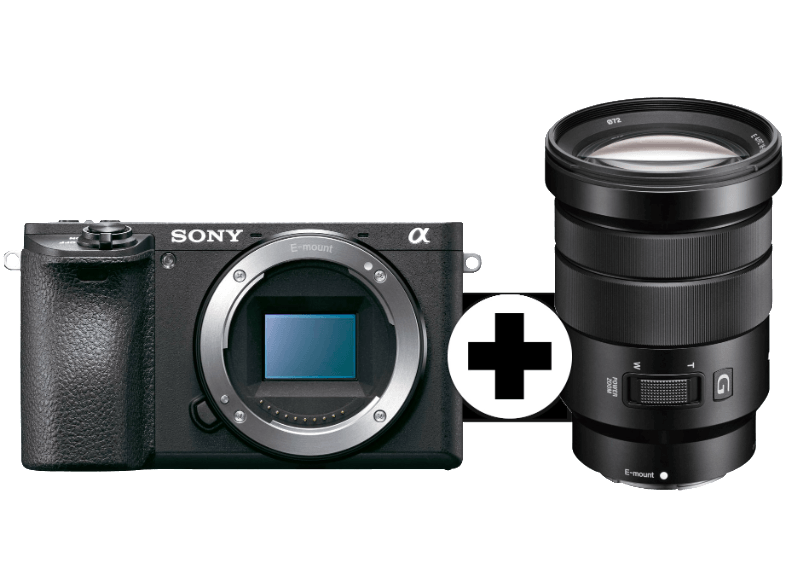 SONY Alpha 6500 με φακό 18-105 mm (ILCE-6500GBDI) mirrorless cameras