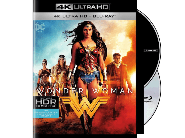 WARNER BROS Wonder Woman 4κ blu ray ταινίες