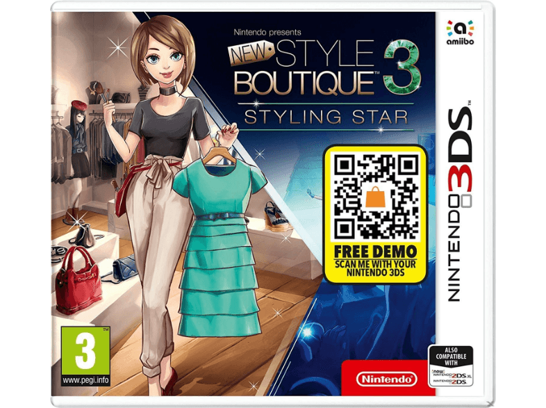 NINTENDO SW Style Boutique 3: Styling Star games 2ds  3ds